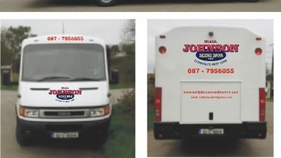 Niall Johnson Mini Bus Hire West Cork