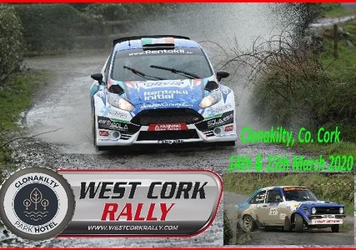 Clonakilty Park Hotel West Cork Rally 2020