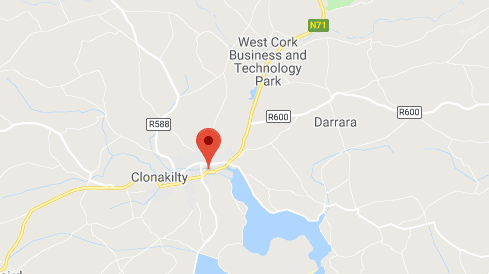 Clonakilty Location Map